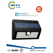 Solar Powered Motion Sensor Light with LED