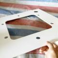 Placa de processamento do PVC de 4mm para a engrenagem
