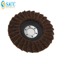 Non-woven cloth Abrasive metal cutting disc flap disc for metal About