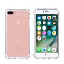 Simple Design Transparent TPU Iphone 8 plus case