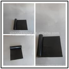 Fabricants de pellicules noires en polyester / noir
