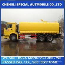 Exportado al tanque de combustible de filipino HOWO camión de recarga
