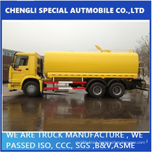 Exported to Philipine HOWO Fuel Tank Refueling Truck