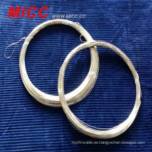 MICC 18.2ohm / m resistencia 0.32mm OCr21Al6NB cable de resistencia eléctrica