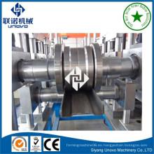 Tipo escalera de acero tipo bandeja de cable que forma la máquina hecha en China