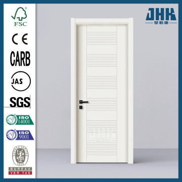 JHK Commercial PVC Wooden Bathroom Plastic House Door