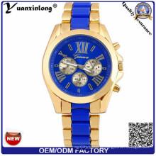 Yxl-769 2016 Тенденция Дизайн На заказ водонепроницаемость Chonograph наручные часы OEM Logo