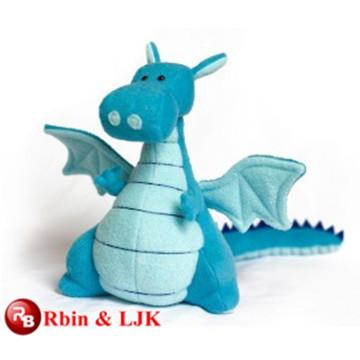 Meet EN71 and ASTM standard ICTI plush toy factory plush dragon plush toy wholesale