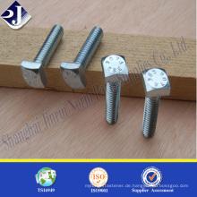 Hochleistungs-Hauptprodukt sqaure Kopfschraube Hochfestes Hauptprodukt sqaure Kopfschraube Carbon Stahl sqaure Kopfschraube