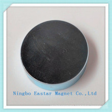 N38 NdFeB Big Disc Magnet with Zinc/Nickel/Epoxy Plating