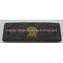 Black Twill Embroidered Patch (Hz 1001 P062)