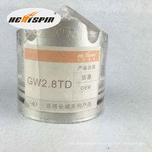 Pistão chinês Gw2.8td com garantia de 1 ano Venda quente boa qualidade