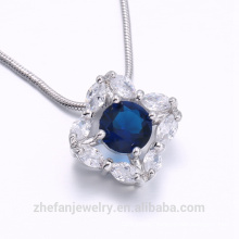 allibaba com fashion jewelry sapphire stone with rhodium plated large pendants for jewelry making