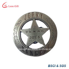Promoção espasmódico logotipo Design personalizado militar distintivo de lata
