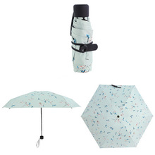 Logo promotionnel Mini 5 Fold Capsule Umbrella