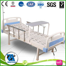 1 crank manual hospital bed with Diner Table