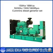 Made in China Cummins 188kVA 150kw Diesel Generator Sets