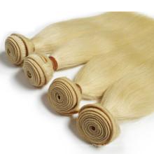 Jungfrau-brasilianisches Haar blonde menschliche Haarwebart nähen in den Verlängerungen des menschlichen Haares
