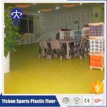 piso de vinil pvc antiderrapante e antibacteriano para berçário