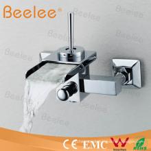 Wandmontage Wasserfall Dusche Wasserhahn mit Single Handle Qh0510-1W