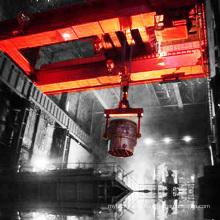 Металлургический завод ковш мостовым краном на сталеплавильный завод