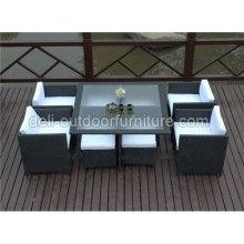 Único de muebles de jardín al aire libre moderno barato