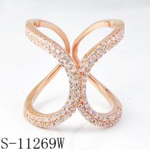 Новое стильное кольцо ювелирных изделий способа 925 серебряное (S-11269W)