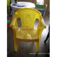 moule personnalisé en plastique d'injection de fauteuil