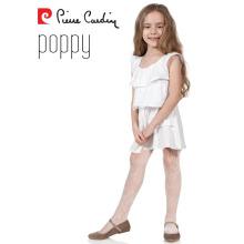 Pierre Cardin Popy OEM Wholesale Kids Girl Tights Patterned Pantyhose