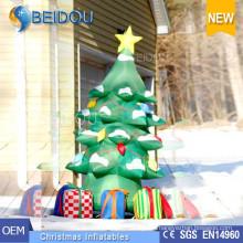 Custom Giant Lighting Christmas Trees Decoration Inflatable Christmas Tree