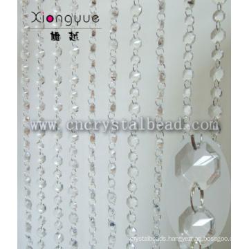 Wholesale Crystal Octagon Beaded Door Curtain For home decor