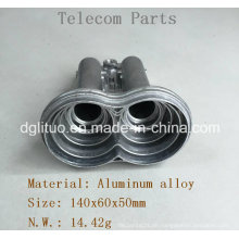 Aluminium-Legierung Druckguss Teile von Satelliten-Receiver