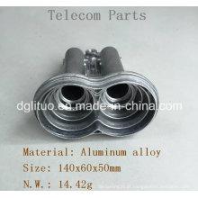 Peças de fundição em liga de alumínio de receptores de satélite