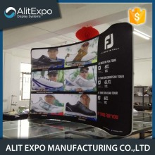 Pop up advertising display trade show backdrop stand