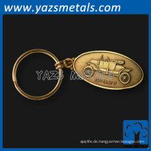 Casting antike Auto Schlüsselanhänger
