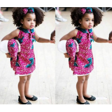 2016 Tissu de mode de mode de l'Afrique, tissu de vente en gros de cire, tissu imprimé africain de qualité
