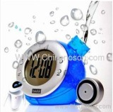 Blue Water Power Clock 110*110*95mm