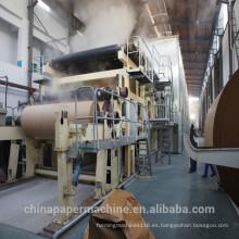 Máquina de fabricación de papel a dos caras