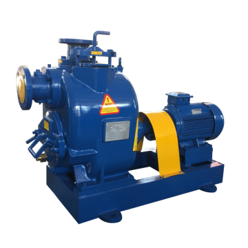 T series 3 inch electric motor driven self suction sewage pump, suction stroke 7.6 m Electric self-priming pump