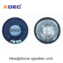 Pilote de haut-parleur de casque de haute qualité 40mm 32ohm 30mw