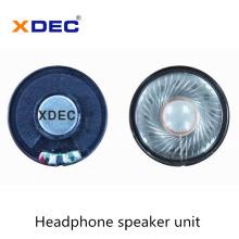 Driver de alto-falante de fone de ouvido de 40 mm 32 ohm 30 mw de alta qualidade