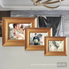 OEM manufacture supplier gold picture frame