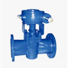 Tipo de manguito DIN Válvula de tapón con sellado suave PTFE (GDX343F)