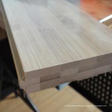 Laque UV horizontale de plancher de bambou solide carbonisée lissent
