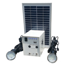 Mini solar home kit for emergency light