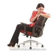 (X3-52B-MF) Red color office chair