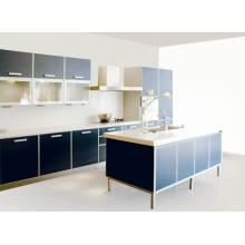 Cabent de cozinha de lâmina altamente brilhante para móveis de cozinha