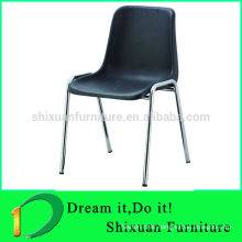 modern stackable popular powder coated plastic chair