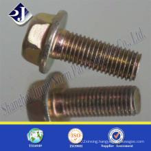 Hex Flange Screw (8.8 Zinc)