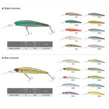 Горячие продажи жесткий пластиковый рыбалка приманка гольян рыбалка заманить